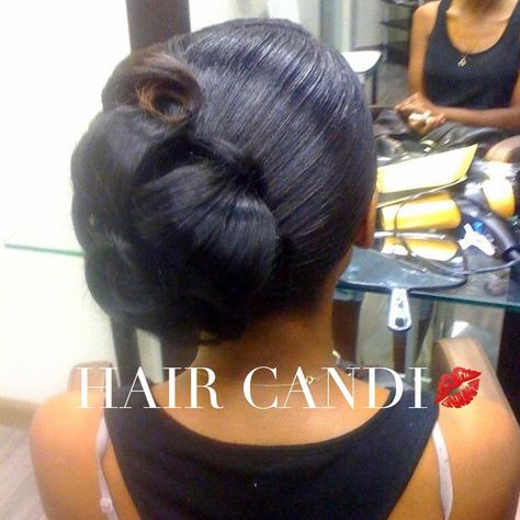 blackgirlmagic Wedding Hair.... just a simple...