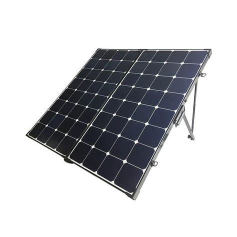 Renogy 200 Watt Eclipse Monocrystalline Solar Suitcase w/o controller - RNG-KIT-STCS200MB-NC
