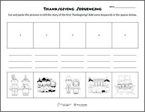 Category Free Printables Page 1 We Are Teachers Thanksgiving Worksheets Sequencing Worksheets Sequencing Worksheet Free thanksgiving worksheets for first
