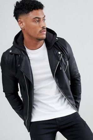 10 Trendy Vegan Leather Hooded Jacket Options Men Women 2020 Leather Jacket With Hood Leather Jacket Men Brown Leather Jacket Men