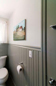 White Wall Gray Beadboard Astounding Walls Wainscoting 13 On Home