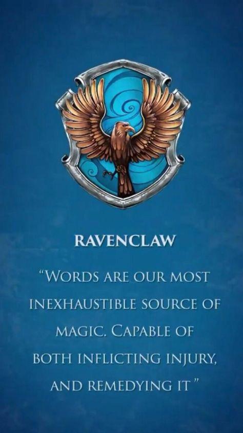 Ravenclaw spirit 💙