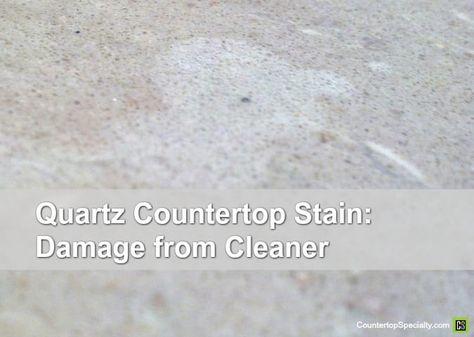 Quartz Countertop Stain Quartz Countertops White Quartz