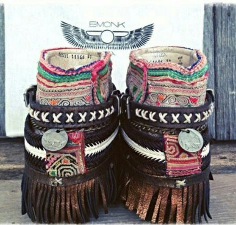 Boho style / Boho boots / my passion: www.babiniec.org