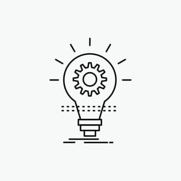 Vector Bulb Idea Bulb Clipart Thought Idea Png And Vector With Transparent Background For Free Download Grafico Png Carpas De Lona Simbolo Energia