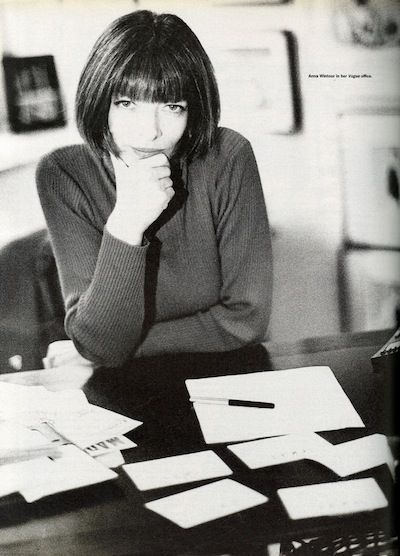 Anna Wintour, Vogue Office, Courtesy of Swinging Tiramisu