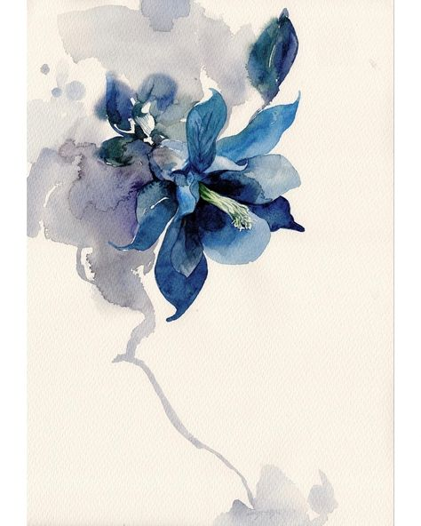 Grand Meres Aquarelle And Fleur Watercolor Flowers Floral