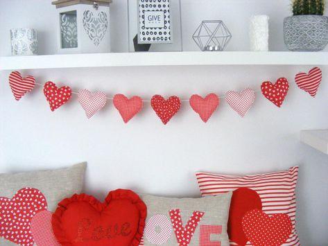 Valentines Day Decorations, Valentine Day Crafts, Holiday Crafts, Valentine Pillow, Craft Decorations, Valentine Ideas, Love Valentines, Holiday Decorations, Baby Christening Gifts