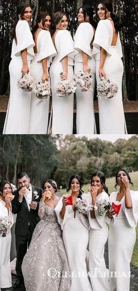 White Bridesmaid Dresses Beach Wedding Mermaid Bridesmaid Dresses Beautiful Bridesmaid Dresses Simple Bridesmaid Dresses