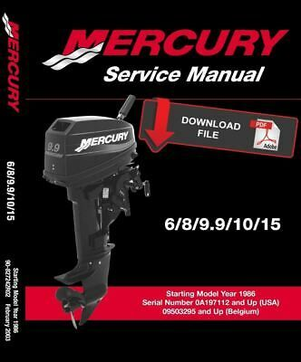 Advertisement Ebay Mercury 15 Marathon Outboard Motor Service Manual In 2020 With Images Outboard Outboard Motors Mercury Outboard