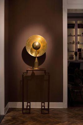 Metropolis Brass Table Lamp By Jan Garncarek 5 Brass Table Lamps Table Lamp Design Asian Inspired Decor