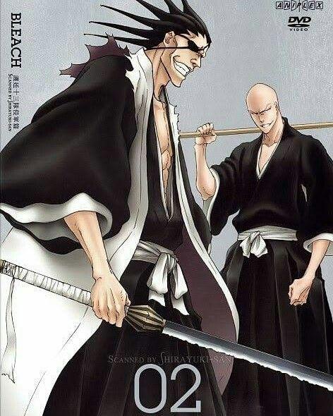 pin de david silva em anime bleach zaraki kenpachi shinigami casal anime
