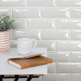 Maverick Grigio 3x8 Textured Mix Pillowed Ceramic Tile Ceramic