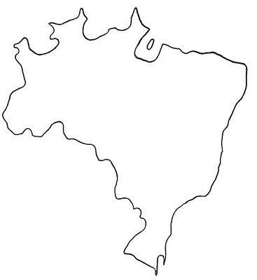 Mapa Do Brasil Desenho Mapa Brasil Mapas Do Brasil Para Imprimir