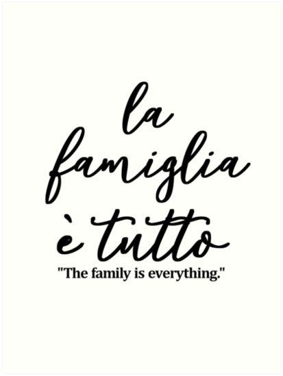 Symbol For Family Tattoo, Family First Tattoo, Tattoo For Son, Tattoos For Kids, Tattoo Quotes About Family, Symbolic Family Tattoos, Family First Quotes, Italian Symbols, Italian Phrases