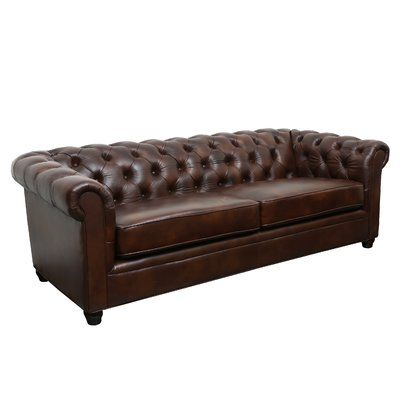 Harrah Chesterfield 93 Rolled Arms Sofa Leather Chesterfield Sofa Red Leather Sofa Italian Leather Sofa