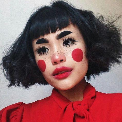 the 10 most inspiring clown makeup ideas