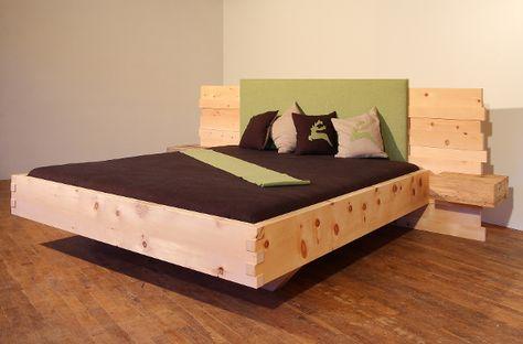 Zirbenholz schlafzimmer modern  22 best Zirbenbett images on Pinterest | Wood, Live and Platform beds