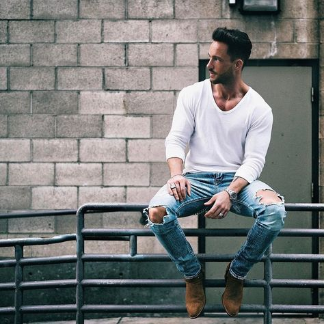 Cool 38 Admiring Men Street Style Outfits Ideas That Make You More Cool In 2019