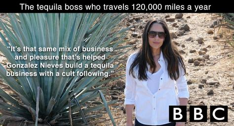 Tequila Casa Dragones CoFounder and CEO, Bertha González Nieves interviews with BBC, revealing the work and lifestyle that comes with being the CEO of Tequila Casa Dragones.