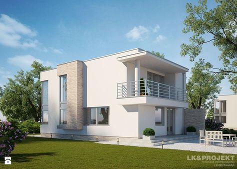 Marvelous LKu0026326   Domy   Styl Nowoczesny   LKu0026Projekt | DOMY / Houses | Pinterest |  Rund Ums Haus, Runde Und Häuschen Home Design Ideas
