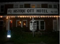 The Historic Ott Hotel Liberty Texas