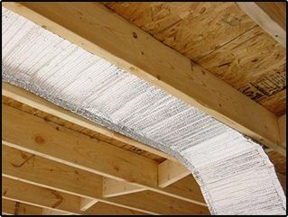 Infrastop Fits Easily Between Floor Joists In Your Crawlspace To Stop Radiant Heat Transfer All Basement Ceiling Basement Ceiling Ideas Cheap Foil Insulation