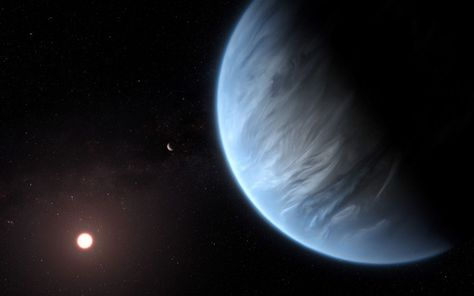 太陽系外惑星に水蒸気
