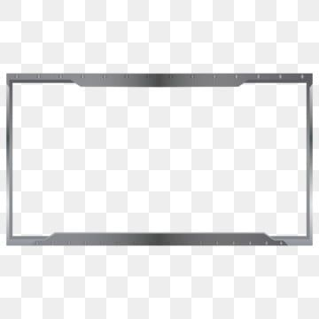 Streaming Overlay Metal Stainless Style Live Vector Stream Png And Vector With Transparent Background For Free Download