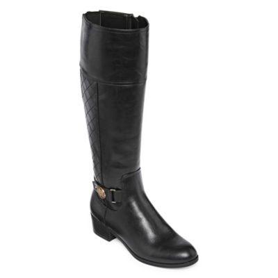 Buy Liz Claiborne Womens Block Heel Zip