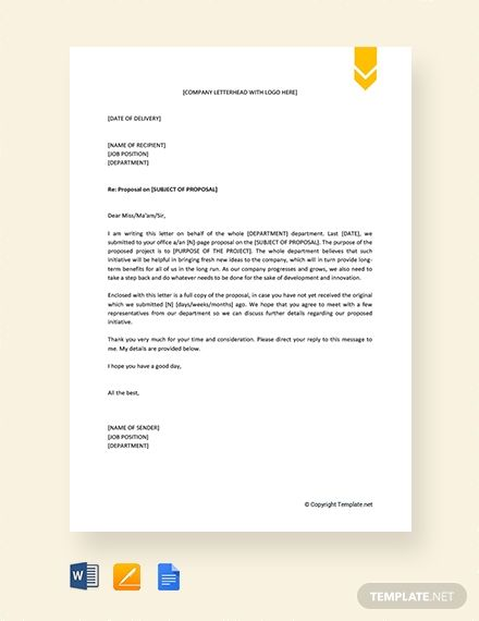 Request Letter Template For Approval Of Proposal Free Pdf Word Doc Apple Mac Pages Google Docs Letter Template Word Lettering Proposal Letter