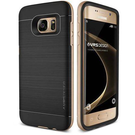 Galaxy S7 Edge Case Soft Cover Case By Vrs Design High Pro Shield Series Champagne Gold Samsung Galaxy S7 Edge Cases Samsung Galaxy S7 Edge