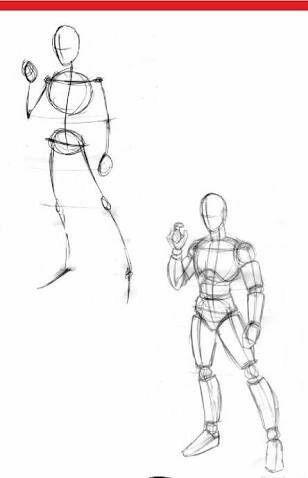 Como Dibujar Personas Dibujar Rostros Y Mas Cursos Para Dibujar Rostros Y Personas Dibujo De Munecos Dibujos Figura Humana Dibujo Anatomia Humana