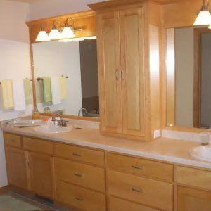 33++ Bathroom storage cabinets countertop diy