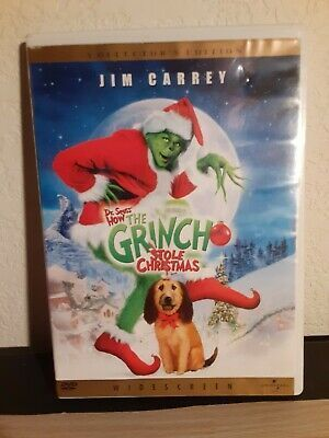 When Does How The Grinch Stole Christmas Come Out 2020 To Dvd How the Grinch Stole Christmas (DVD, 2001, Widescreen) in 2020