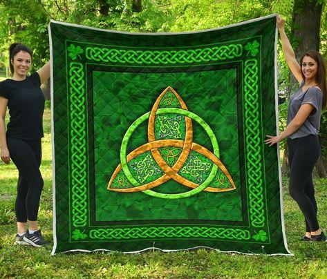 Irish Celtic Protection Tree of Life Quilt NM030302 - Queen