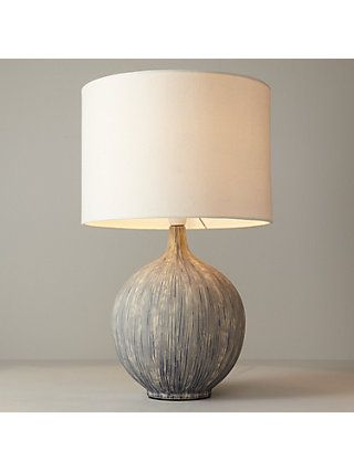 John Lewis Partners Laura Touch Lamp Putty At John Lewis Partners Table Lamp Lamp Ceramic Table Lamps