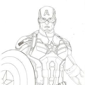 Avengers Assemble Rough Inking Of Captain America Chris Evans From The Avengers This I Marvel Zeichnungen Captain America Zeichnung Inspirierende Zeichnung