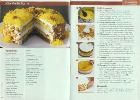 Bolo Marta Rocha Sweets Pinterest Dessert recipes, Cake and - category kuchen dekoo continued