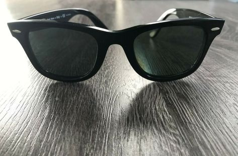 7d2b79ac4443 Details about Ray-Ban Wayfarer Ease RB4340 Black Frames in 2019 ...