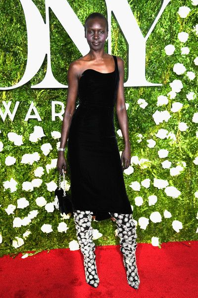 Alek Wek - The Best Dressed at the 2017 Tony Awards - Photos