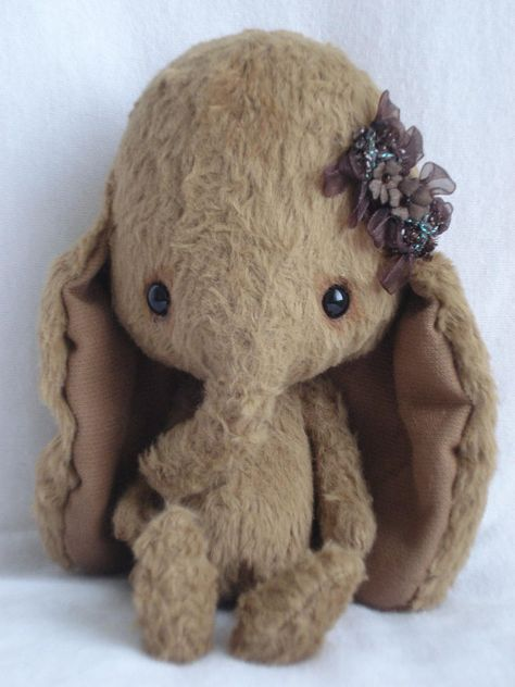 handmade stuff elephant. These stuffed animals are unbelievable adorable but a little on the pricey side.