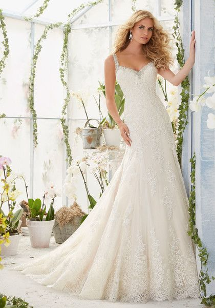 Mori Lee by Madeline Gardner Wedding Dress - Popular On Pinterest: Wedding Dresses That Have Been Pinned Over 10,000 Times - Photos