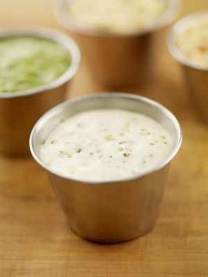 Houston's Buttermilk Ranch Salad Dressing. Creamy and delicious ranch from CopyKat.com.