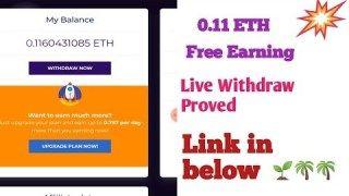 Ethereum Mining 2019 Ethonline io – 0 116 ETH Free Earning