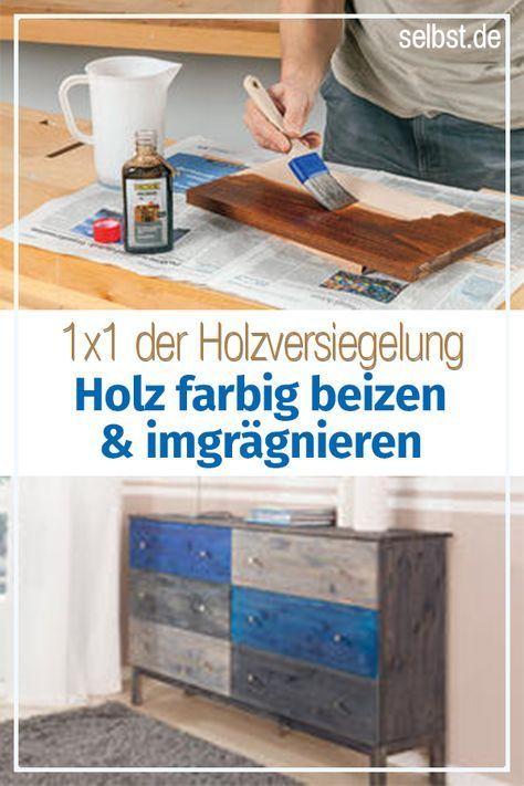 Holzbeizen Mischen Verarbeiten Diese Werkzeuge Und Materialien