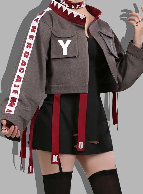 This My Hero Academia Toga Himiko Hero Magazine Daily Fashion Uniform Cosplay Costume is made of simple and stylish design, worth buying.