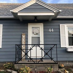Large Brush Script Cursive House Numbers House Numbers House Address House