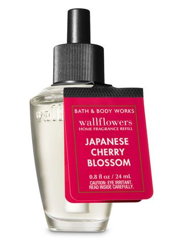 Signature Collection Japanese Cherry Blossom Wallflowers Fragrance Refill Bath And Body Works Japanese Cherry Blossom Bath And Body Works Bath And Body