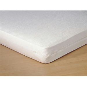 Aanbieding Bed 140x200.Beslist Be Aanbieding Voor Matrasvernieuwer Jersey Wit 160